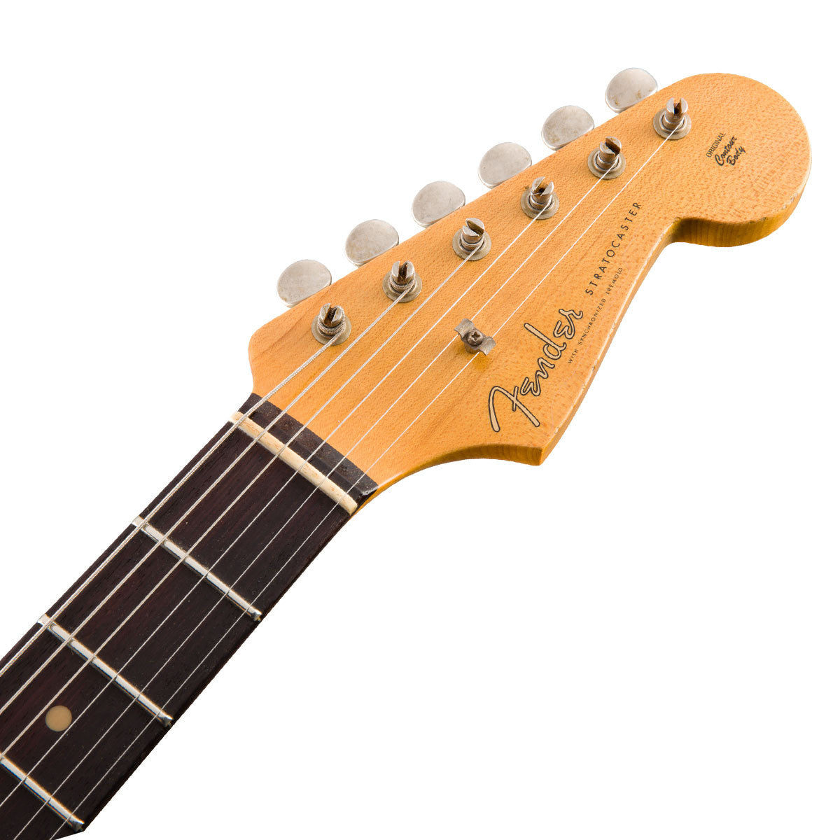 Fender Custom Shop - 1960 Relic Stratocaster - Chocolate 3-Tone Sunburst | Lucky Fret Music Co.