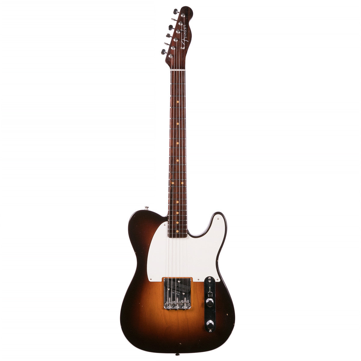 Fender Custom Shop - '57 Esquire - Limited Edition Journeyman Relic, Rosewood - Chocolate 2-tone Sunburst | Lucky Fret Music Co.