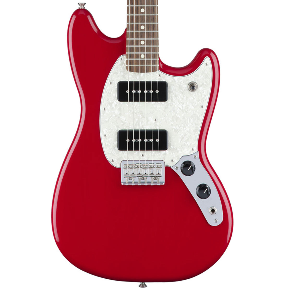 Fender Mustang 90 - Rosewood - Torino Red - Vintage Guitar Boutique