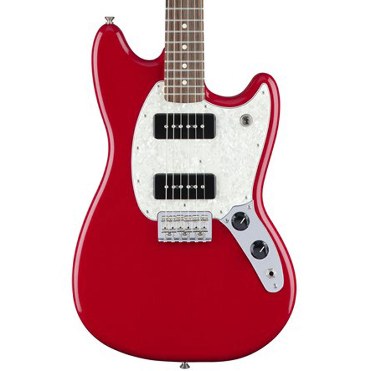 Fender Mustang 90, Pau Ferro Fingerboard, Torino Red | Lucky Fret Music Co.