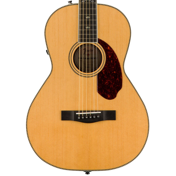 Fender PM-2 Deluxe Parlor, Ebony Fingerboard, Natural *B STOCK*