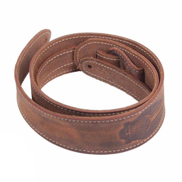 Fender Road Worn Strap - Brown - Vintage Guitar Boutique