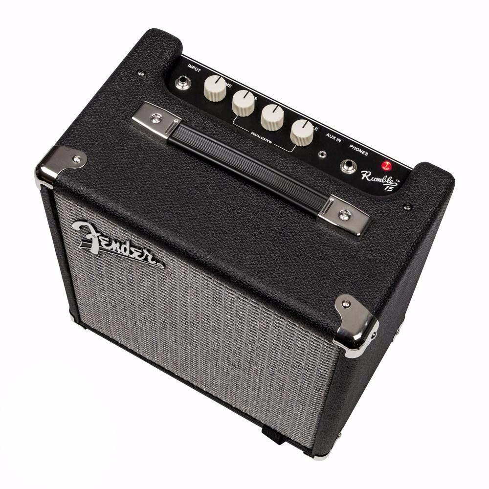 Fender Rumble 15 Combo (V3) - Vintage Guitar Boutique - 2
