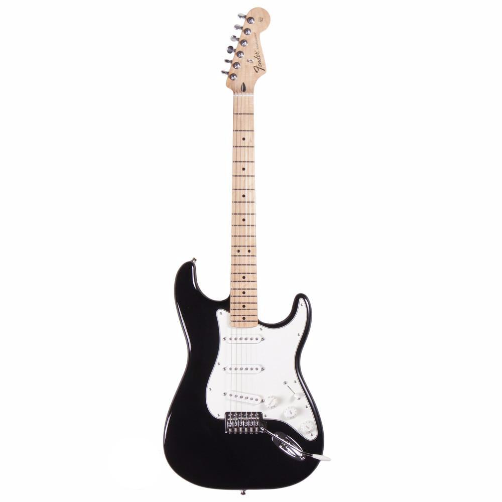 Fender Standard Stratocaster - Maple - Black - Vintage Guitar Boutique - 2