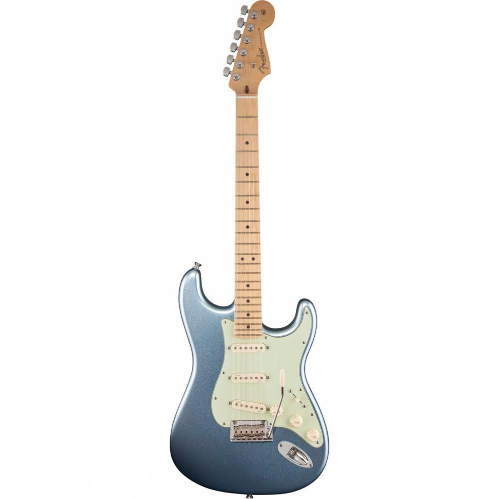 Fender American Deluxe Stratocaster Plus - Maple - Mystic Ice Blue - Vintage Guitar Boutique - 2