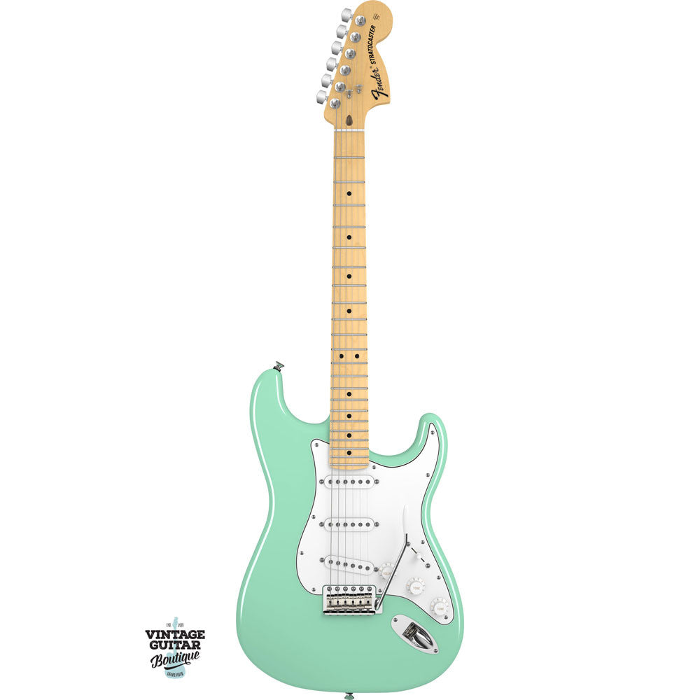Fender American Special Stratocaster - Maple - Surf Green - Vintage Guitar Boutique - 2
