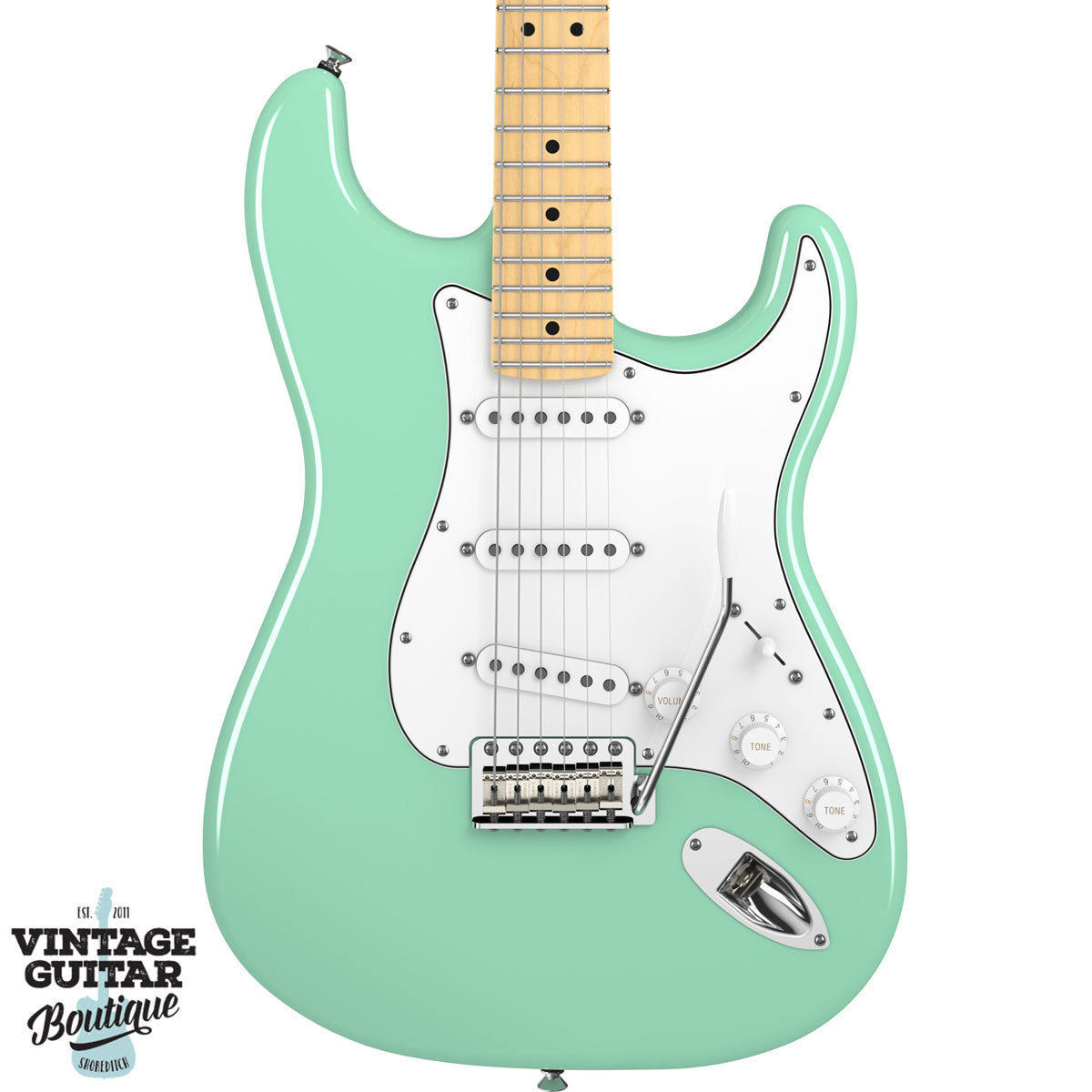 Fender American Special Stratocaster - Maple - Surf Green - Vintage Guitar Boutique - 3