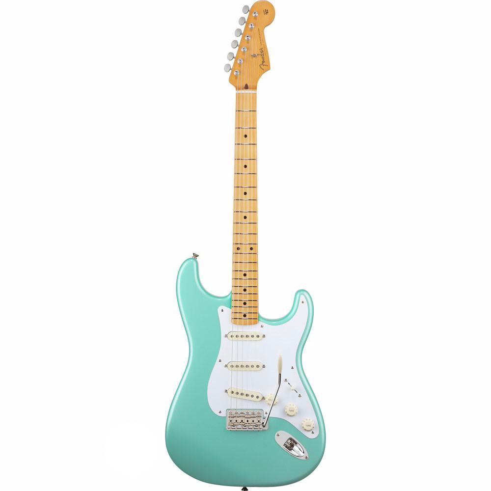 Fender Classic Series 50s Stratocaster - Maple - Surf Green - Vintage Guitar Boutique - 2