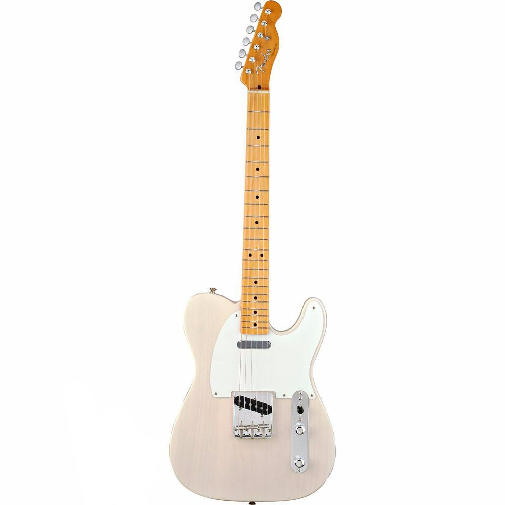 Fender Classic Series 50's Telecaster - Maple - White Blonde - Vintage Guitar Boutique - 2
