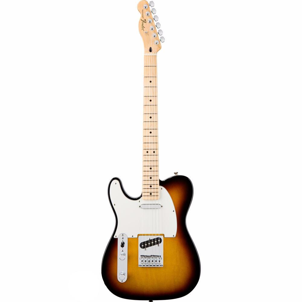 Fender Standard Telecaster - Maple - Brown Sunburst - Left Handed - Vintage Guitar Boutique - 2