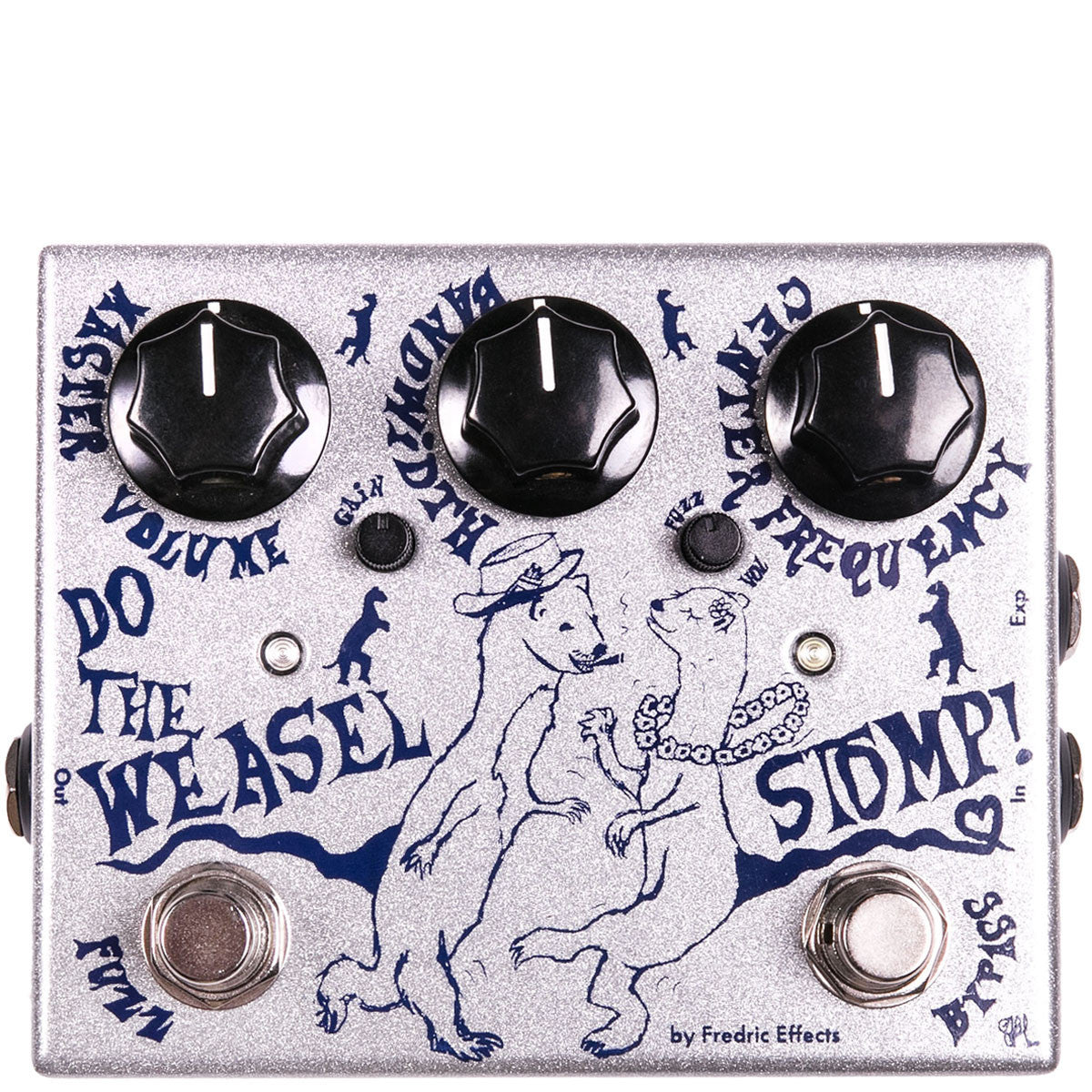 Fredric Effects Do The Weasel Stomp Filter & Distortion | Lucky Fret Music Co.