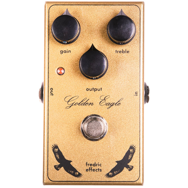 Fredric Effects Golden Eagle Overdrive | Lucky Fret Music Co.