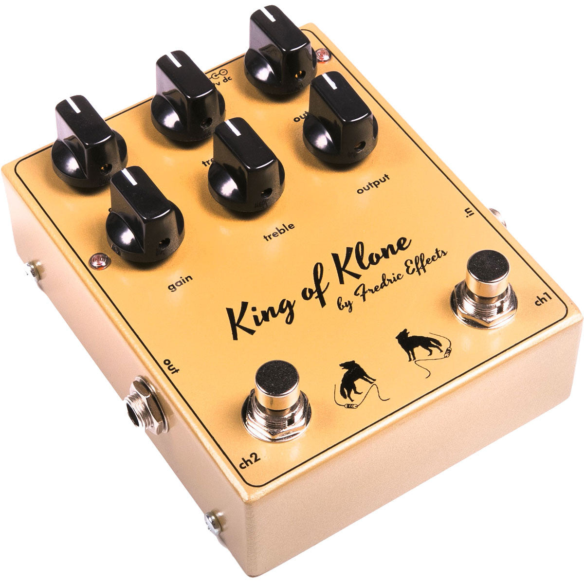 Fredric Effects King of Klone Overdrive | Lucky Fret Music Co.