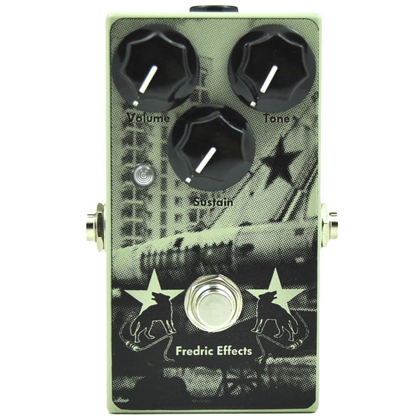Fredric Effects Russian Green Muff Fuzz | Lucky Fret Music Co.
