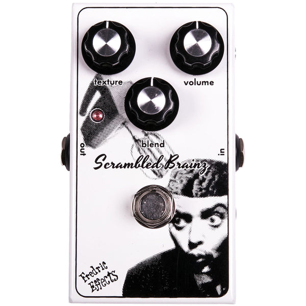 Fredric Effects Scrambled Brainz Octave Fuzz Ring Modulator | Lucky Fret Music Co.