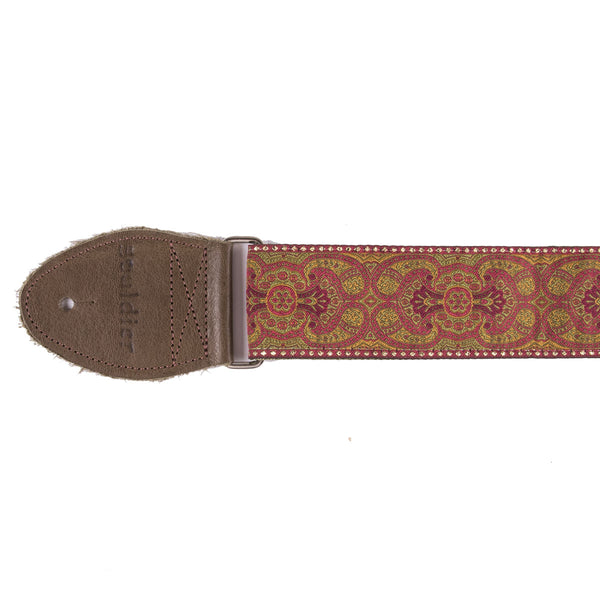 Souldier Arabesque Mustard Strap | Lucky Fret Music Co.