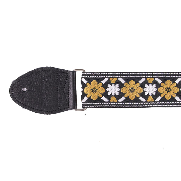 Souldier Lennon Gold Flower Strap | Lucky Fret Music Co.