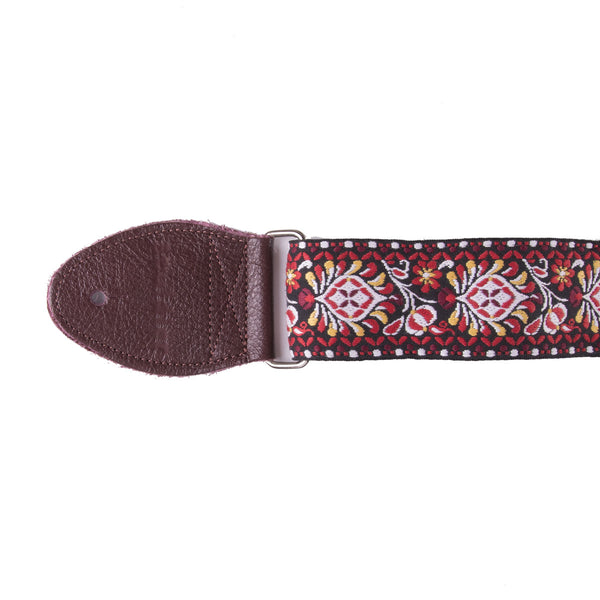 Souldier Hendrix Red/Black Strap | Lucky Fret Music Co.