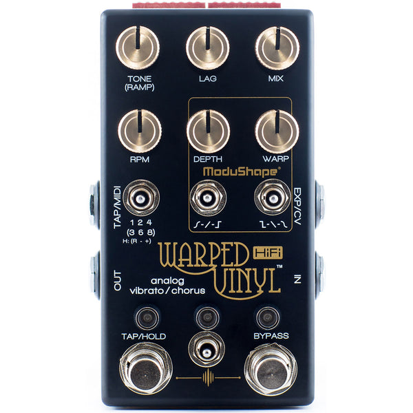Chase Bliss Audio Warped Vinyl HIFI Analog Chorus Vibrato | Lucky Fret Music Co.