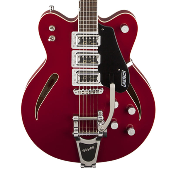 G5622T-CB - Electromatic Center Block, Double Cutaway Thinline - Rose Red
