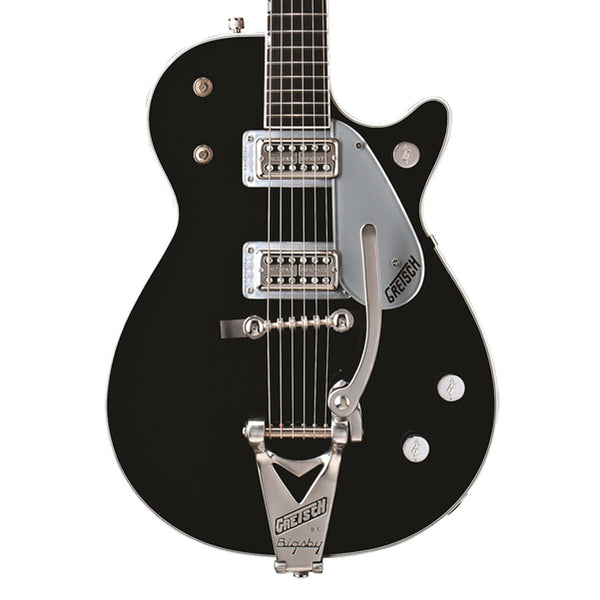 Gretsch G6128T Duo Jet with Bigsby, Ebony Fingerboard - Black - SALE PRICE | Lucky Fret Music Co.