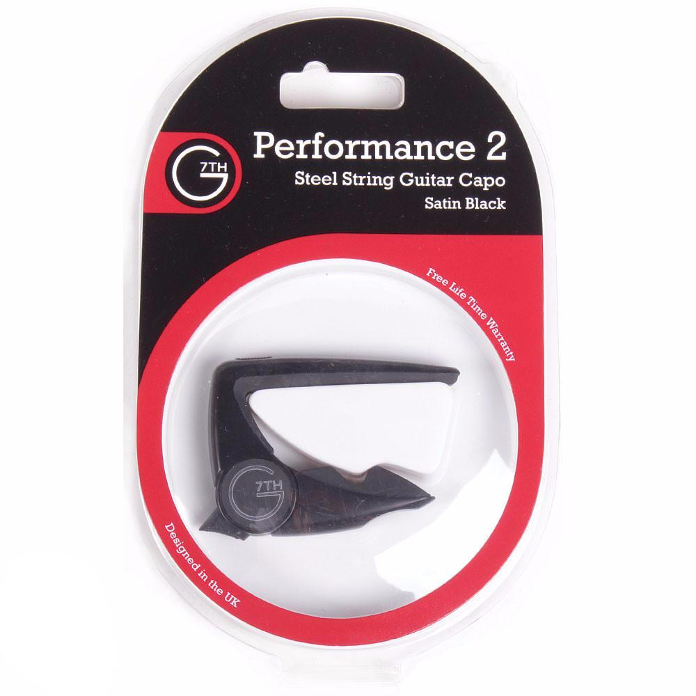 G7th Performance 2 Capo Acoustic - Black - Vintage Guitar Boutique