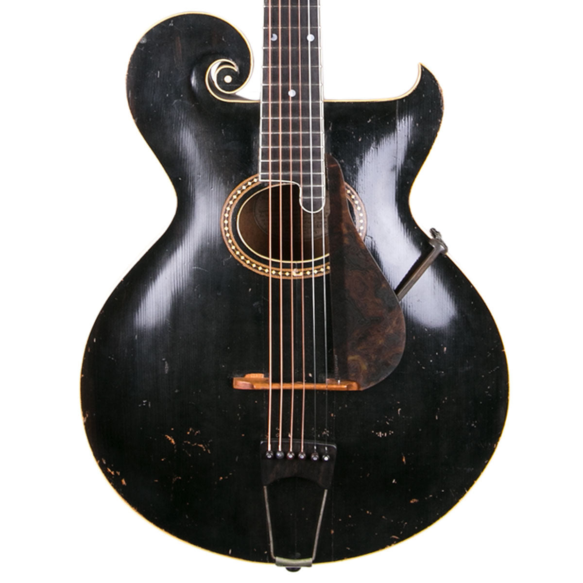 1911 Gibson Style 0 - Black | Lucky Fret Music Co.