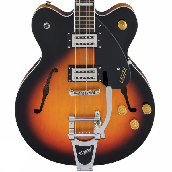 Gretsch G2622T Streamliner, Center Block with Bigsby, Broad'Tron Pickups, Aged Brooklyn Burst