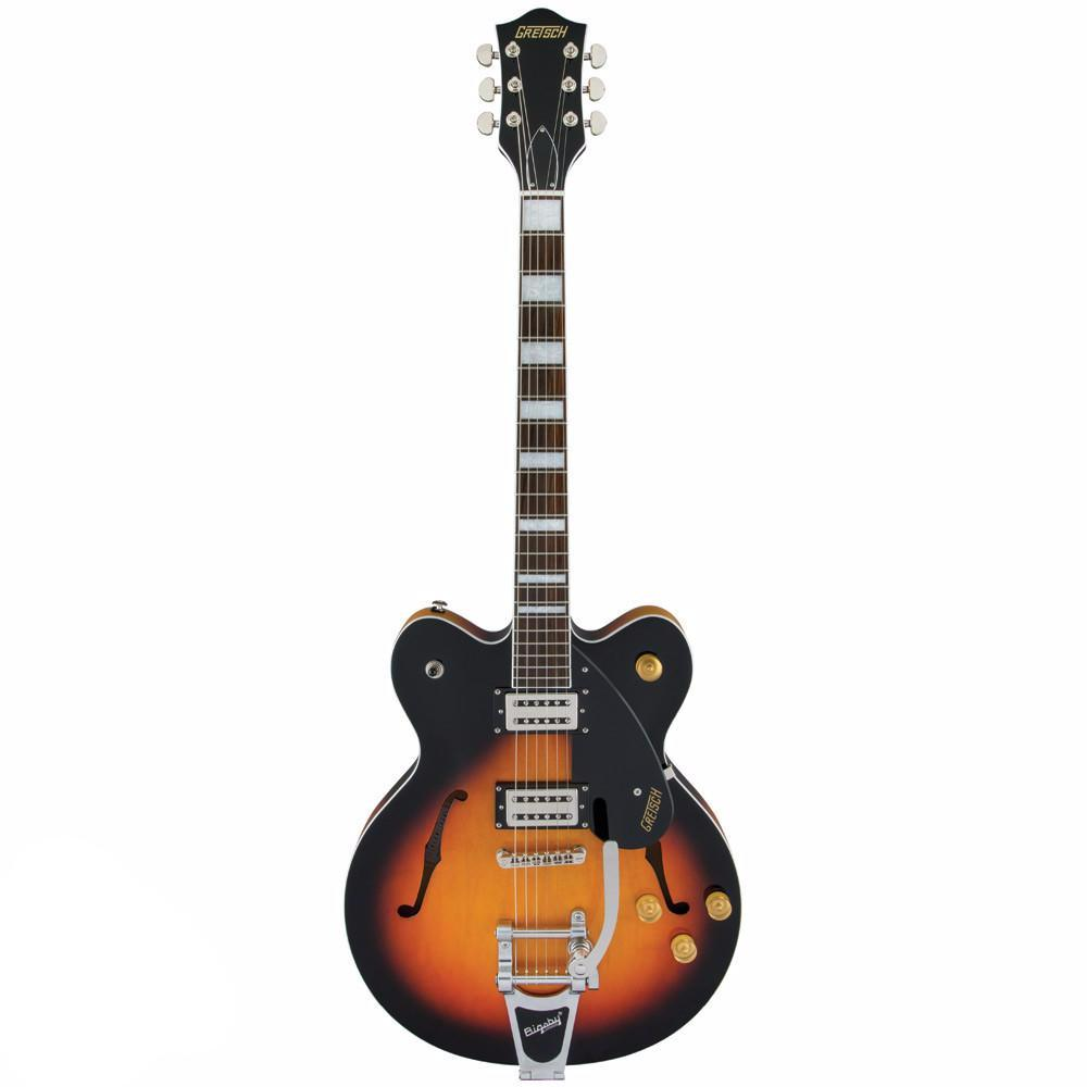 Gretsch G2622T Streamliner, Center Block with Bigsby, Broad'Tron Pickups, Aged Brooklyn Burst - Vintage Guitar Boutique