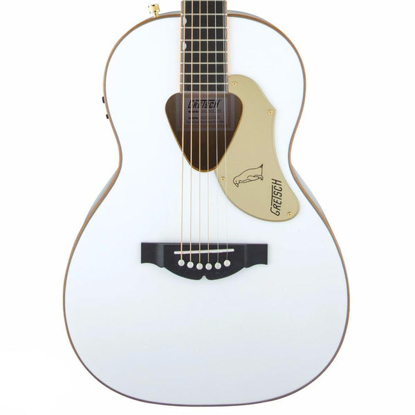 Gretsch G5021WPE Penguin Electro Acoustic, White | Lucky Fret Music Co.