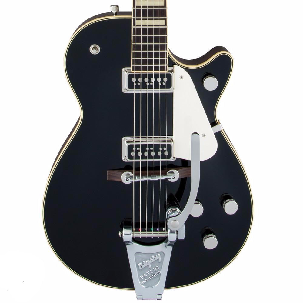 Gretsch G6128T-53 Vintage Select '53 Duo Jet with Bigsby - Black | Lucky Fret Music Co.