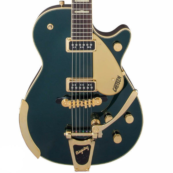 Gretsch G6128T-57-CDG Vintage Select Edition '57 Duo Jet with Bigsby - Cadillac Green - SALE PRICE | Lucky Fret Music Co.