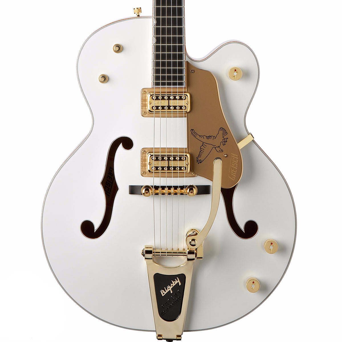 Gretsch G6136T - White Falcon w/Bigsby - Vintage Guitar Boutique - 1