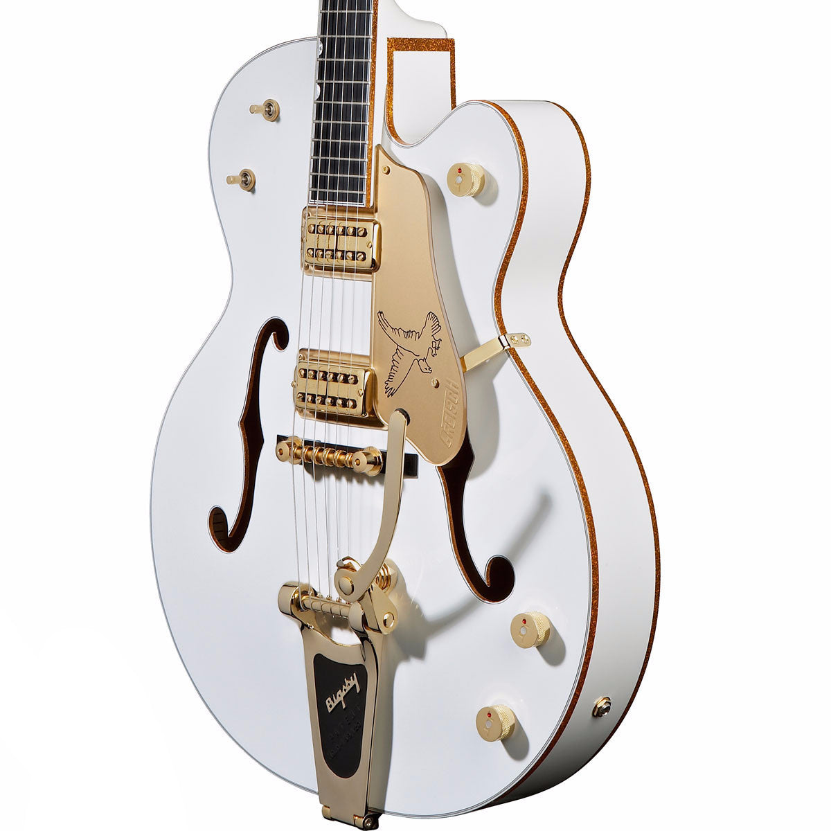Gretsch G6136T - White Falcon w/Bigsby - Vintage Guitar Boutique - 4