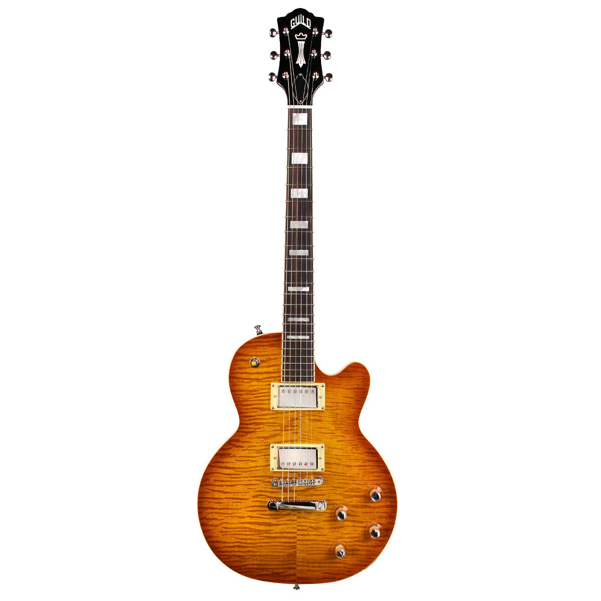 Guild Bluesbird - Iced Tea Burst - Newark St. Collection - Vintage Guitar Boutique - 2