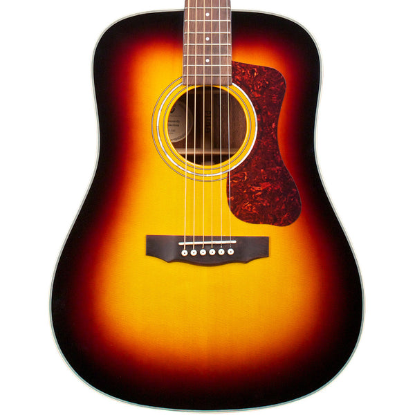 Guild D-140 - Sunburst - Westerly Collection - Vintage Guitar Boutique - 1