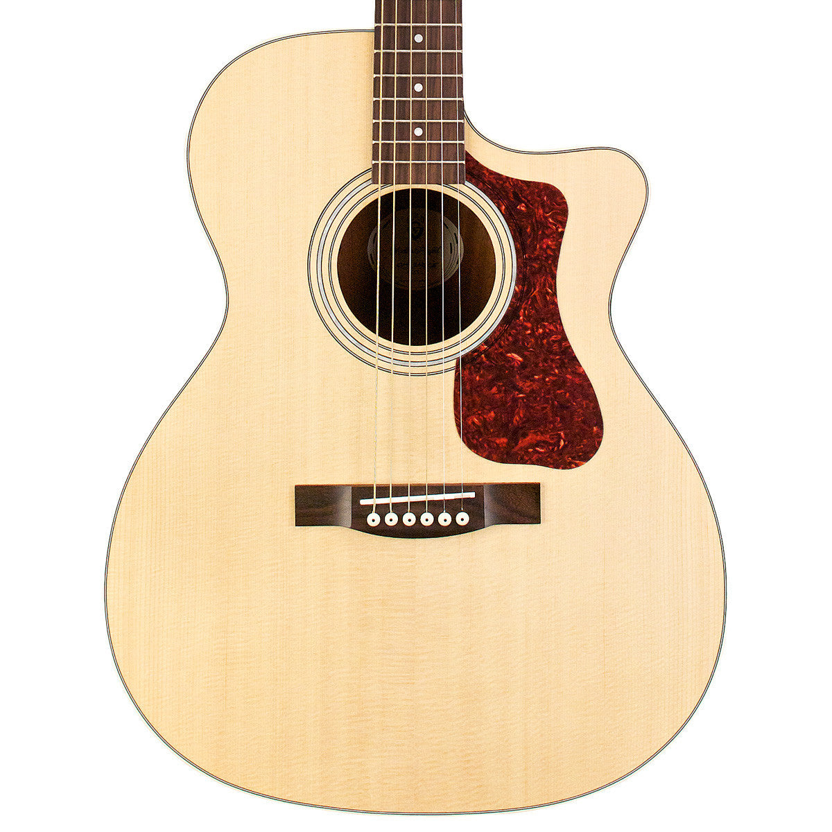 Guild OM-240CE - Natural - Westerly Collection - Vintage Guitar Boutique - 1