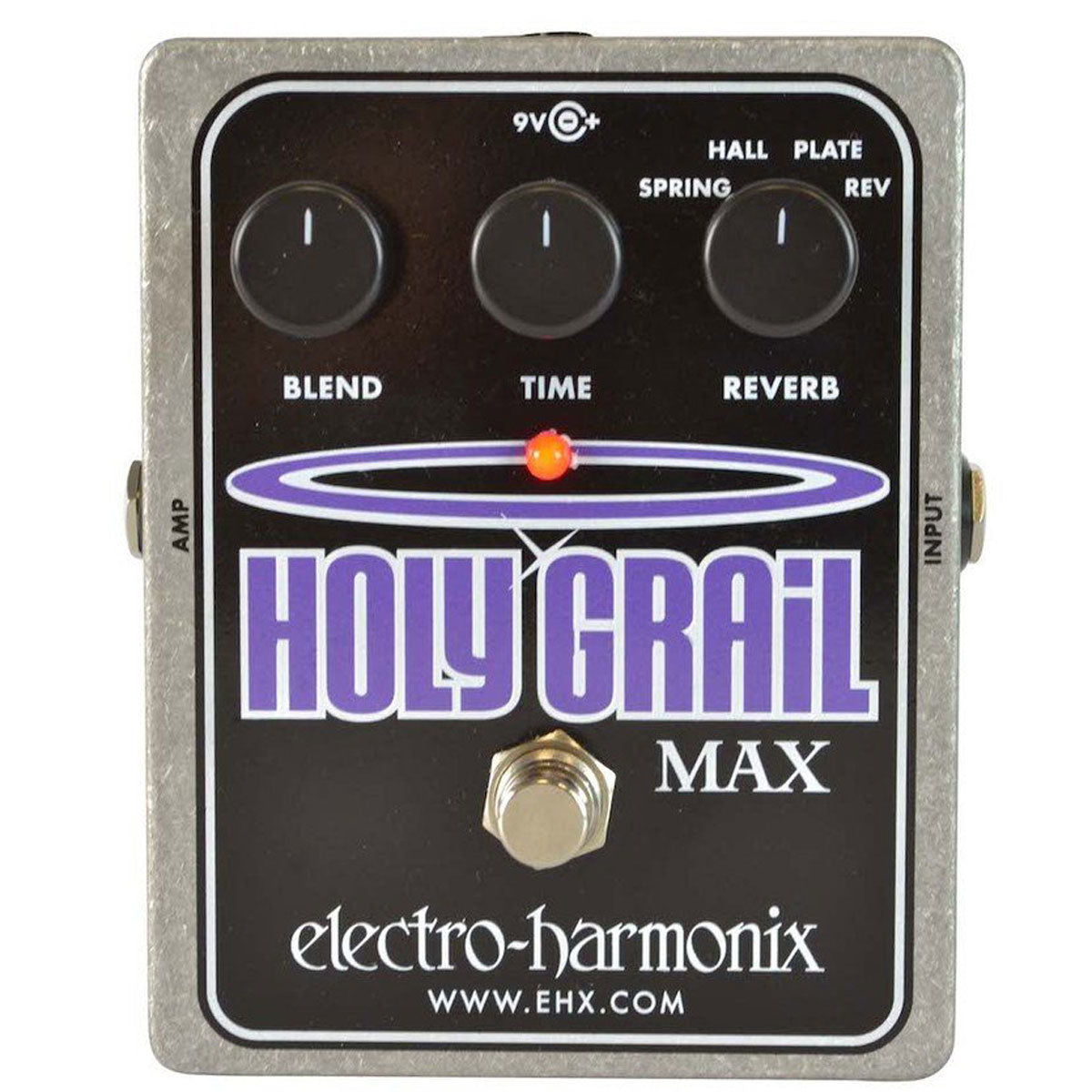 Electro Harmonix - Holy Grail Max - Variable Reverb Plus (PSU Included) | Lucky Fret Music Co.