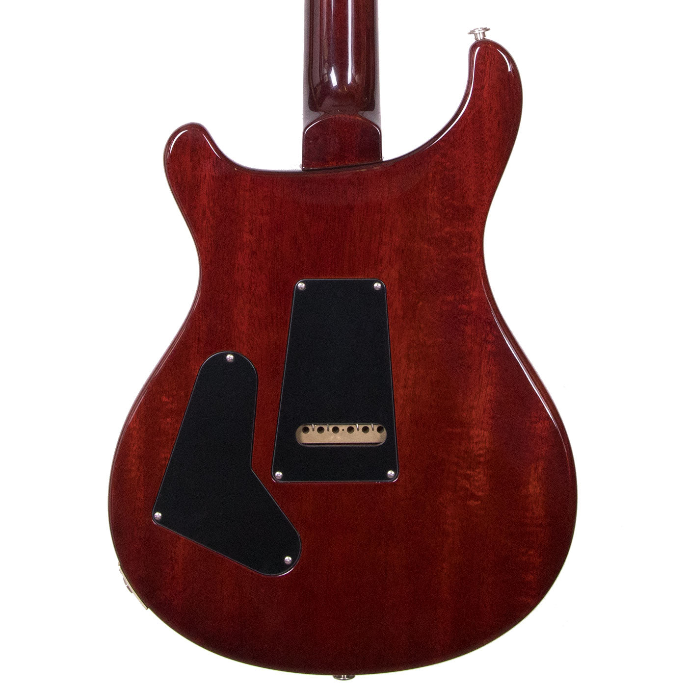 2010 PRS Custom 24 25th Anniversary Ten Top - Fire Red Burst