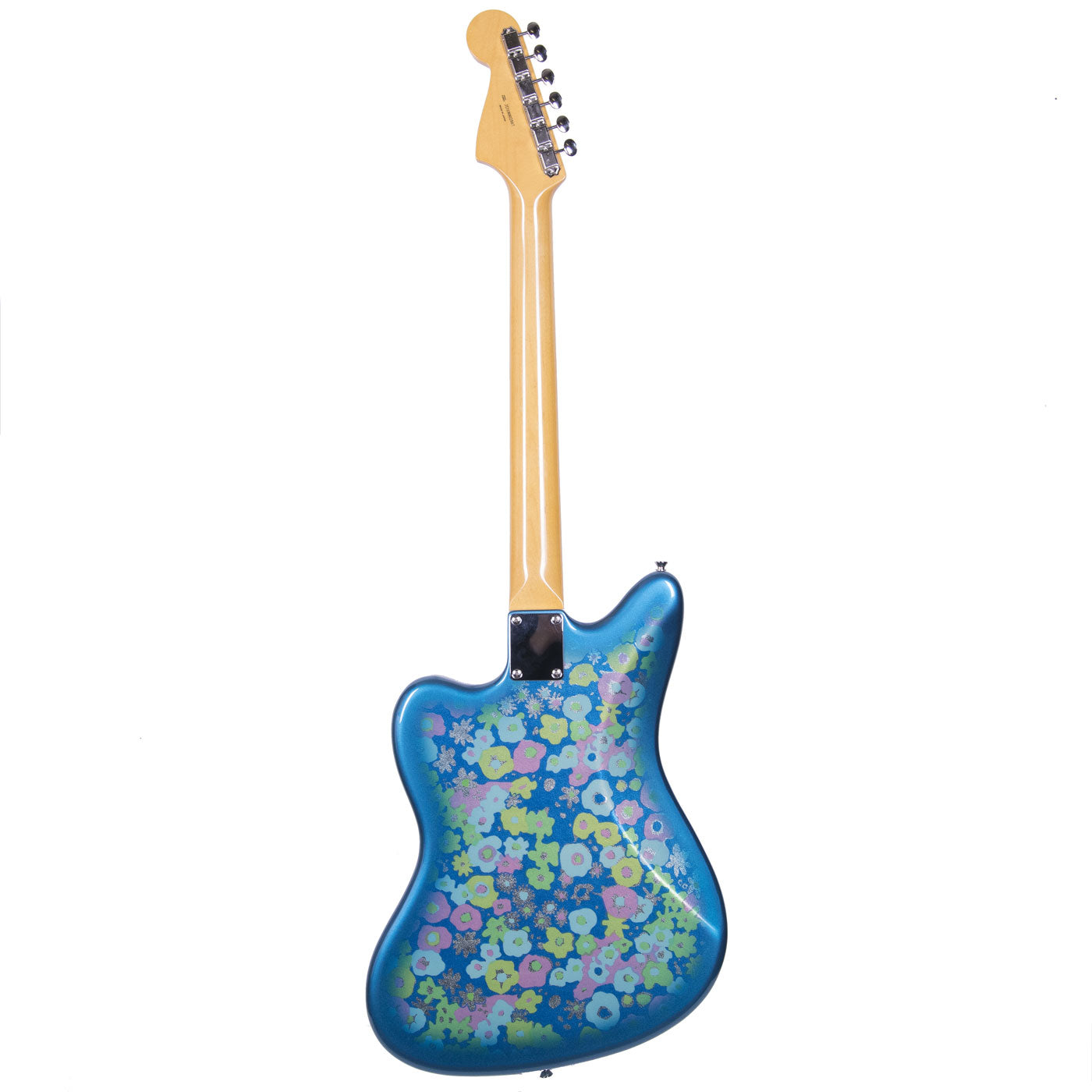 2018 Fender Japan Traditional 60s Jazzmaster, Blue Flower