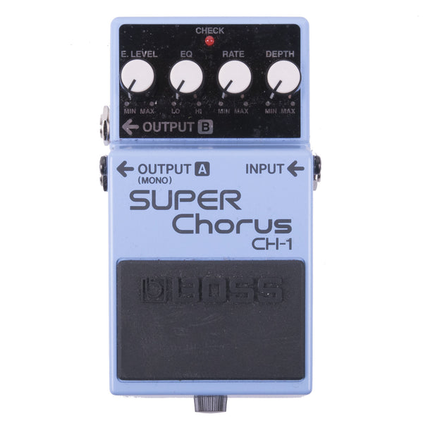 Used Boss CH-1 Super Chorus