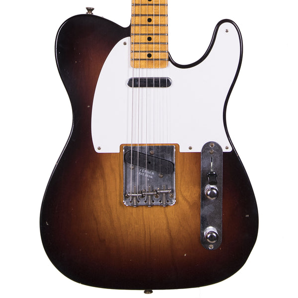 Fender Custom Shop 2019 Journeyman Relic 1956 Telecaster - Wide Fade 2-Color Sunburst