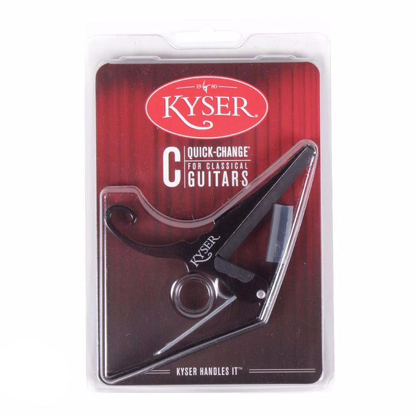 Kyser Trigger Classical Capo - Black - Vintage Guitar Boutique