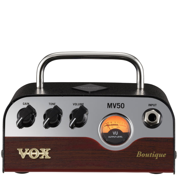 "Vox MV50-BQ - 50w miniature valve amplifier - ""Boutique"""