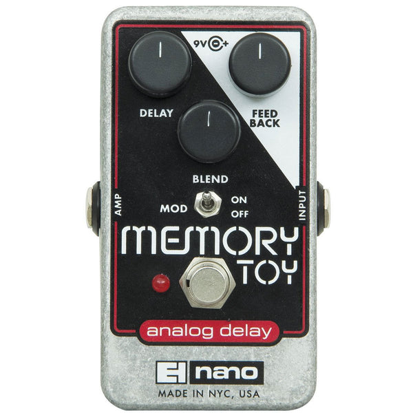 Electro Harmonix - Memory Toy - Analog Delay / Chorus | Lucky Fret Music Co.