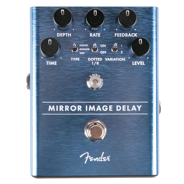 Fender Mirror Image Delay Pedal | Lucky Fret Music Co.