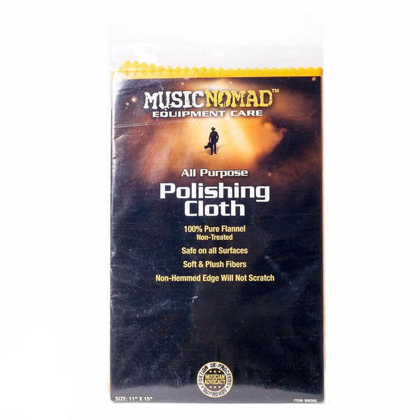 Music Nomad - Flannel Polish Cloth - Vintage Guitar Boutique