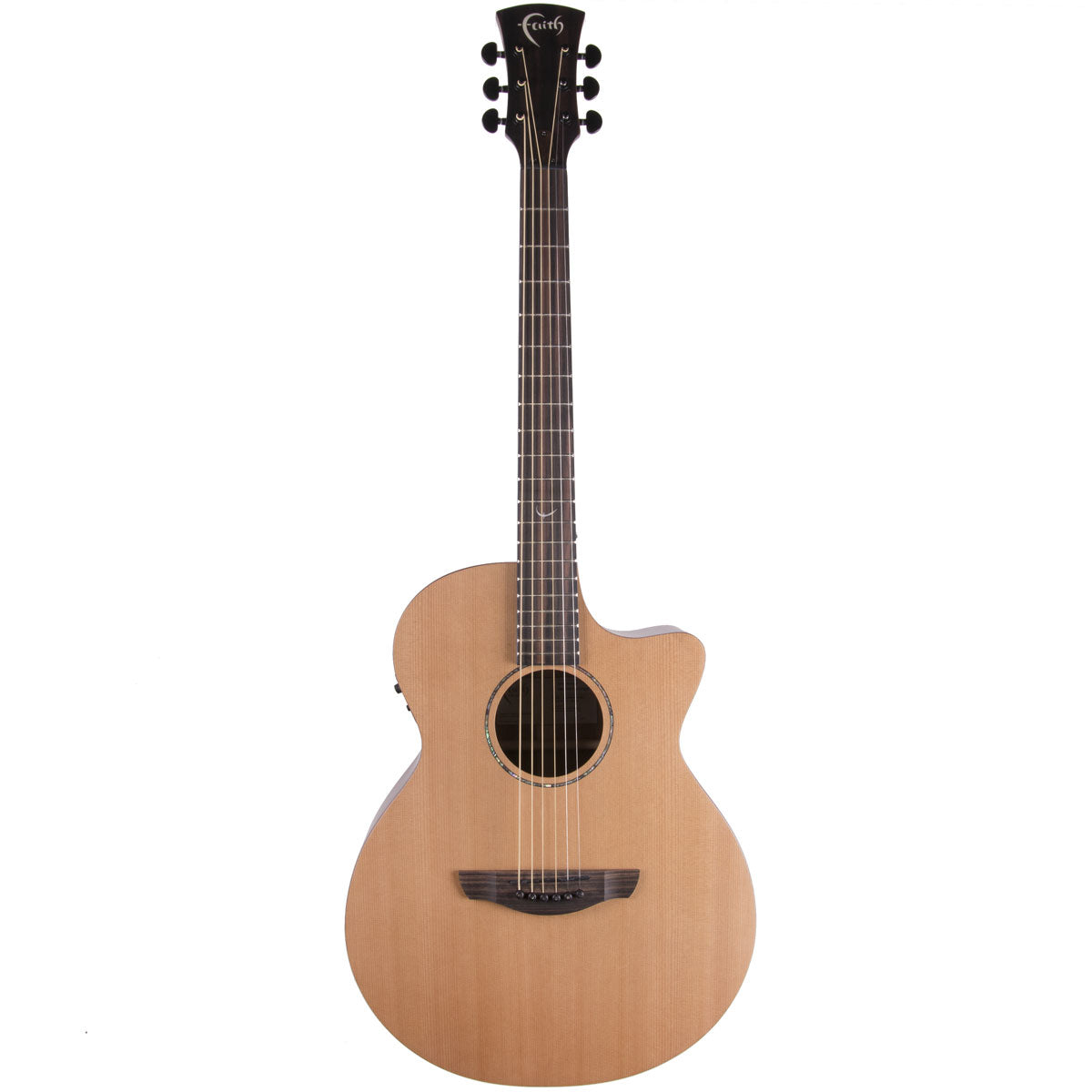 Faith FKVCD Naked Venus Cut Elec/Ac Cedar/Mahogany Satin | Lucky Fret Music Co.