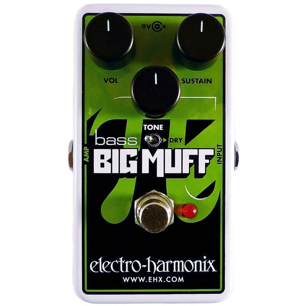Electro Harmonix - Nano Bass Big Muff Pi - Distortion/Sustainer | Lucky Fret Music Co.