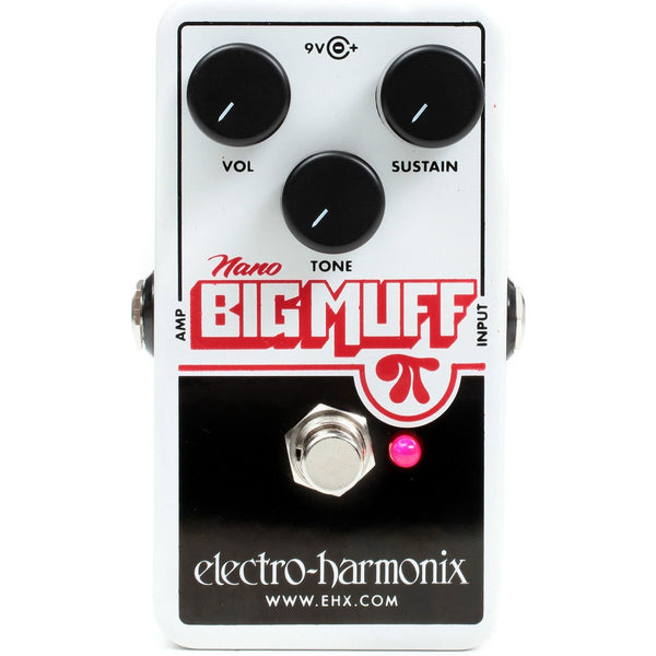 Electro Harmonix - Nano Big Muff - Distortion/Sustainer | Lucky Fret Music Co.